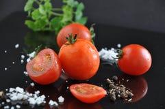 Close up Fresh Cherry Tomato Royalty Free Stock Image