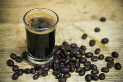 Close up fresh coffee beans and isolated on white background , fresh material from market, healthy drink and international drink Royalty Free Stock Image