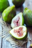 Close-up of fresh figs royalty free stock photos