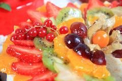 Close up of fresh fruits Royalty Free Stock Photo