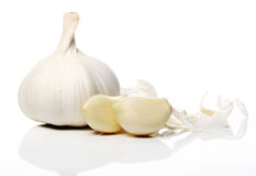 Close up of Fresh garlic Stock Photography