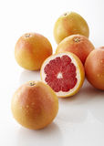 Close up of Fresh grapefruit Stock Photography