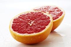 Close up of Fresh grapefruit. Shot in studio Royalty Free Stock Photos