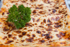 Close up Fresh homemade Lasagne Royalty Free Stock Photo