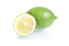 Close up of fresh lemon Stock Photo