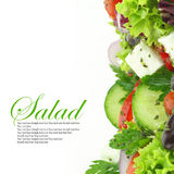 Mixed vegetables salad Royalty Free Stock Photo