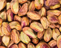 Close up of fresh pistachios. Royalty Free Stock Photos