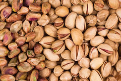 Close up of fresh pistachios. Stock Photos