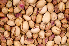 Close up of fresh pistachios. Stock Photography