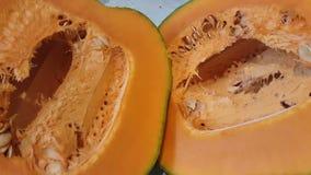 Close up of fresh pumpkin