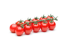 Close-up of fresh ripe cherry tomatoes Stock Photo