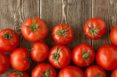 Close-up of fresh, ripe tomatoes Royalty Free Stock Images