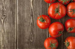 Close-up of fresh, ripe tomatoes Stock Photography