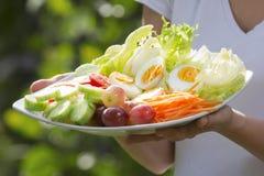 Close - up fresh salad . Stock Image