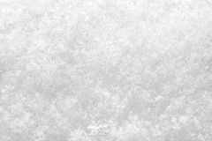 Close up of fresh snow texture Stock Photo