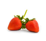 Close-up of fresh strawberries Stock Images