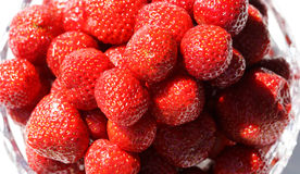 Close up of fresh strawberries Stock Photo