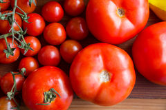 Close-up of fresh tomatoes Royalty Free Stock Photo