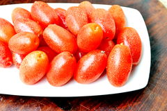 Close up of fresh tomatoes Stock Photos