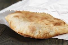 Close up of freshly baked flat pita bread Stock Photos