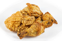 Close up fried chicken Royalty Free Stock Photo