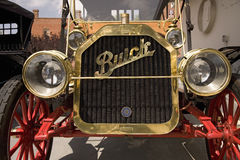 Close-up of front of antique Buick Royalty Free Stock Images