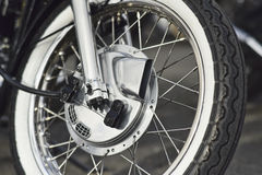close up of a front drum brake of Royalty Free Stock Photos