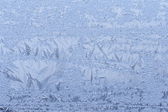 Close up of frost pattern Stock Photo