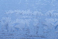 Close up of frost Royalty Free Stock Photo