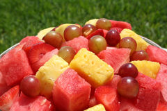 Close up of a fruit bowl Royalty Free Stock Images