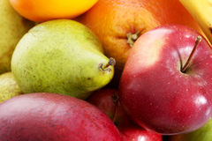 Close up on fruit composition. Royalty Free Stock Images