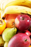 Close up on fruit composition. Stock Image