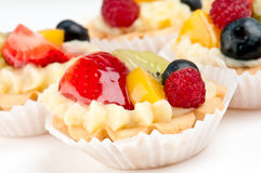 Close up of fruit dessert Royalty Free Stock Photo