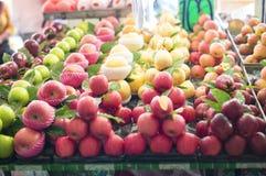 Close up fruit on market. Royalty Free Stock Images