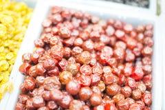 Close up fruit on market. Royalty Free Stock Photo