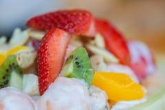 Close up on fruit salad Stock Image