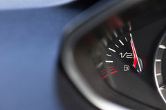 Close Up Of Fuel Gauge In Car Registering Full Royalty Free Stock Images