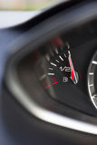 Close Up Of Fuel Gauge In Car Registering Full Royalty Free Stock Photos