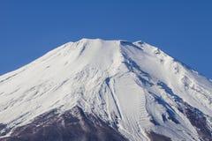 Close up Fuji Mountain in Japan Stock Photography