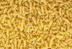 Close-up fusilli picture. Many fusilli noodles as full-screen picture stock images