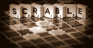 Close-up of Gameboard Royalty Free Stock Images