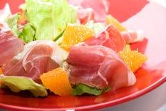 Close up of gammon salad Royalty Free Stock Image