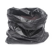Close up of a garbage bag Stock Image