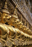 Close up of Garuda decoration on chapel base at Grand Palace. Stock Images
