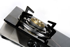 Close up of gas burner Stock Images