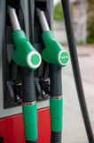 Close up of gasoline pump Royalty Free Stock Images