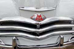Close up of GAZ M20 Pobeda vintage car - Stock image Stock Photography