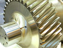 Close up of gear Royalty Free Stock Photo