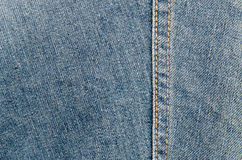 Close-up gedetailleerde jeans Royalty-vrije Stock Foto's
