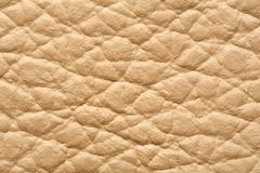 Close up genuine leather. Life size close up Genuine shammy leather texture Royalty Free Stock Images